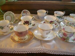 Royal Stafford Cups & Saucers