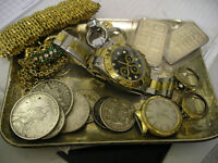 WANTED ALL OLD POCKET AND WRIST WATCHES BROKEN OR WORKING