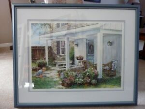 "Laura Berry Print ""Potted Garden"""