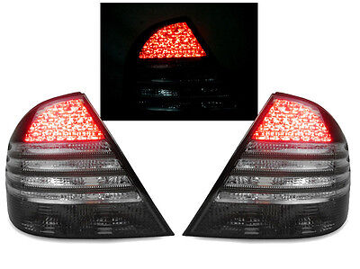 DEPO All Smoke W Circuit Board LED Tail Light For 2000 06 Mercedes W220 S Class