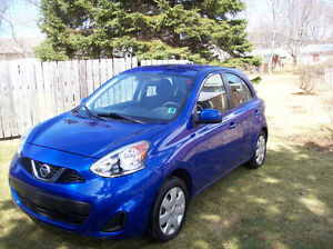 **REDUCED $13000.** 2015 Nissan MICRA SV Only 11,700 KM Excellen