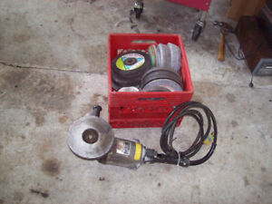 ANGLE GRINDER SANDER HEAVY DUTY & STONES