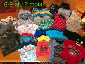 Lot  de vetements enfant 9 mois à 2T