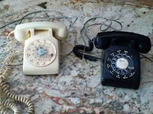Rotary telephones - two available - $10 each