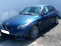 2007 07 BMW 5 SERIES 3.0 530D M SPORT 4D AUTO 228 BHP DIESEL