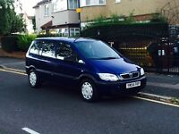 Vauxhall Zafira 1.6, 7 Seater, Long MOT, Super Low Mileage, Cheap 4 Insurance, Reliable 5 Door Car