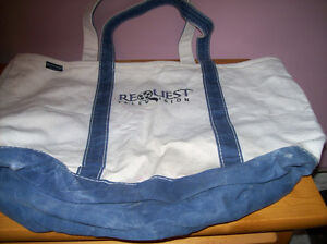 large cloth tote/insulated shopping tote