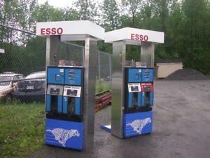 pompe a gaz et fuel