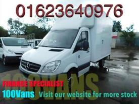 MERCEDES-BENZ SPRINTER LUTON 2.1TD 316CDI MWB 160PS