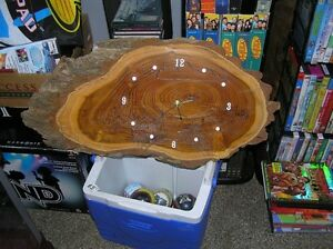 Burl Clocks