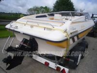 Boat Fletcher 17-0 Mercruiser 4.3 andTrailer