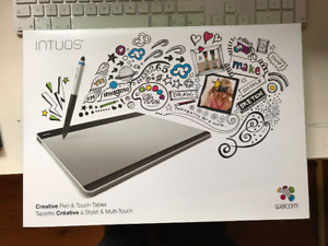 Tablette graphique wacom intuos medium pen and touch