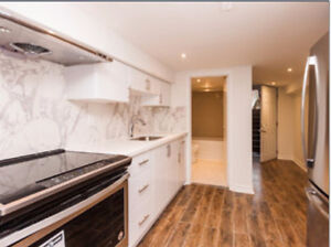 Be the FIRST, to live in this beautifully renovated 2 bed bsmt