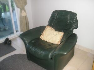 Ekornes reclining chair and footstool