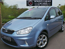2007 (57) FORD C-MAX 1.8TD ZETEC 115 5DR - VERY LOW MILES - 9 SERVICE STAMPS