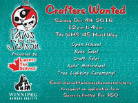 WHS Paws for the Season Craft Sale - Crafters Wanted