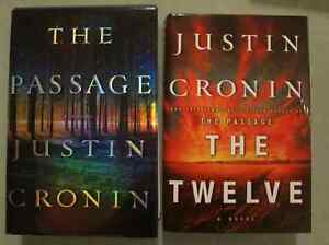 NYT Best Seller The Passage (Hardcover) & The Twelve (Hardcover)