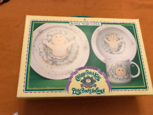 Royal Worcester Cabbage Patch Kids First Edition dish set