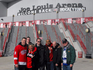 DETROIT RED WINGS BUS TRIPS - Last 2 games at Joe Louis Arena