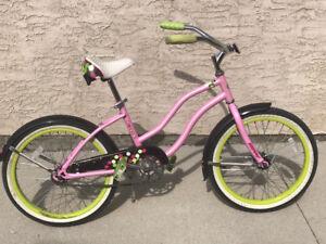 "Girls 20"" Huffy Cranbrook Cruiser Bike with Coaster Brakes"