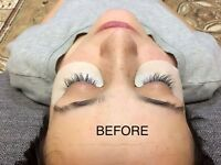 Eyelash extension £35 (limited time)