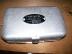 Umco Small Double Sided Aluminum Tackle Box Model P-9 Windsor Region Ontario image 1