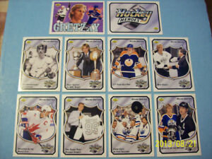 5 1992-93 Complete Upper Deck 10 card Set Hockey Heroes Gretzky!