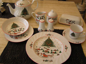 Set of Christmas Dishes $50.00 OBO