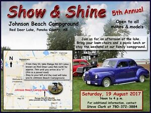 Save the Date - Show & Shine - Sat, 19 Aug 2017