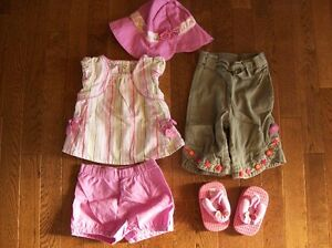 Gymboree 'Tea Garden' Set, Size 6-12 months