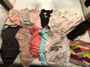 BABY GIRL 12-18 MONTH CLOTHING - 15 PIECES