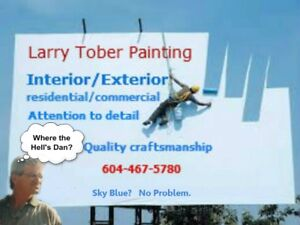 Larrys Painting- free estimates