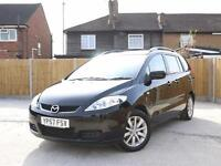 2007 Mazda 5 2.0 TS2 5 Speed 7 Seater MPV Air Conditioning Only 70,000 Miles Ful