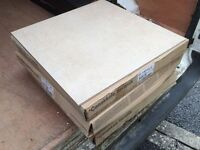 Light cream beige floor tiles 6m2 porcelain