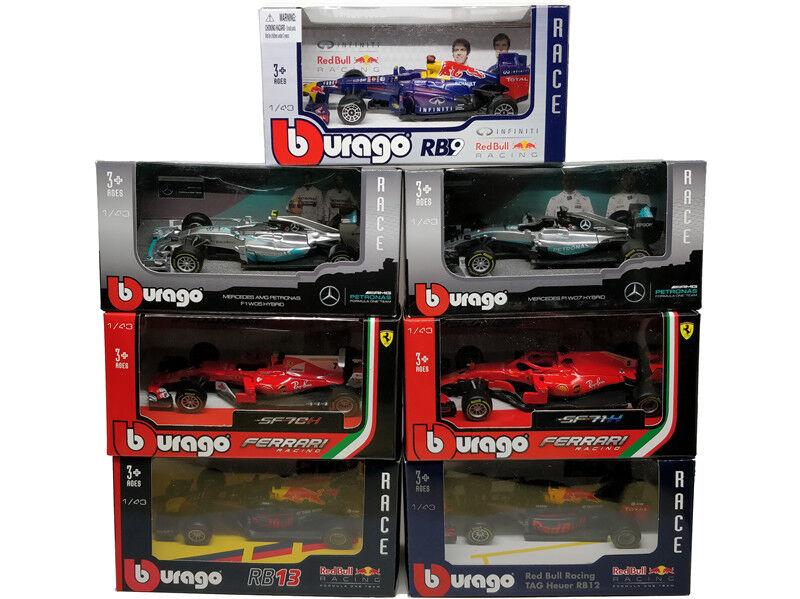 F1 2018 Formula One Ferrari SF71H RB13 Benz AMG W07 Diecast