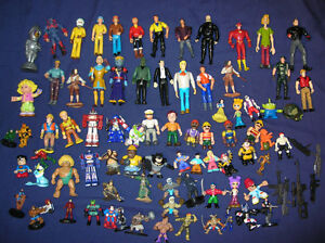 Action Figures Toys Lot of 75 pc Mix