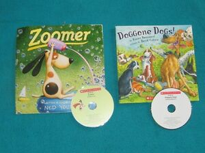 Zoomer and Doggone Dogs with CDs