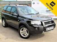 2006 LAND ROVER FREELANDER 2.0 TD4 FREESTYLE 5D 110 BHP! P/X WELCOME! AUTO!