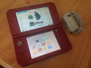 Red New 3ds XL - Running CFW & homebrew