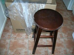 """o BRAND NEW WINSOME 24"""" WOOD STOOL"""