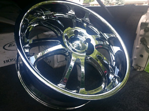 Rims & Tires Off Ford F150 SVT Lightning