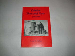 N.O.S. BOOK , COBDEN THEN AND NOW 1849-1989