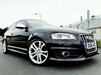 2011 Audi S3 2.0 TFSI TURBO 49,000 FULL AUDI HISTORY *SATNAV * 3 door Hatchback