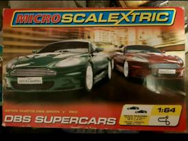 Microscalextric Aston Martin DBS Supercars