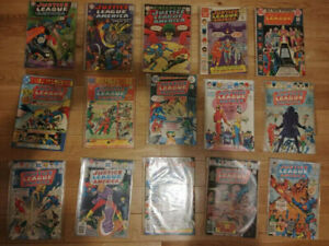 DC Justice League of America Comics