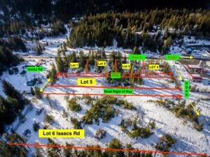 4 Lots for Sale Minutes South of Kaslo BC!