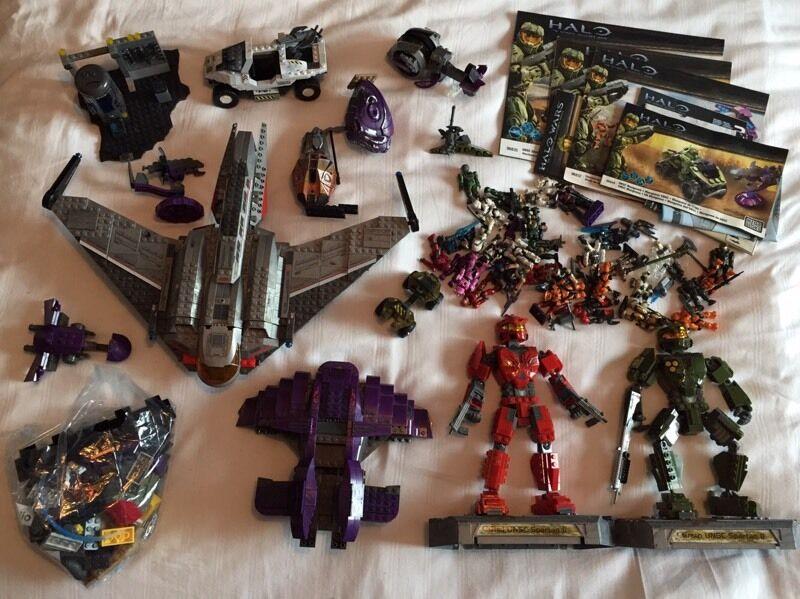 Halo Mega Bloks 36 Figures Vehicles Instructions Toys Star Wars Lego