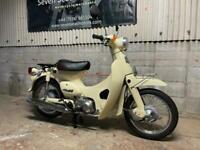 1999 JDM Honda Little Cub C50 in rare cream