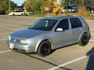 2003 Golf ! Low Kms! safetied and e-tested