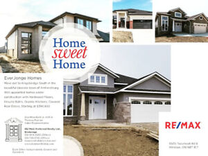 New Homes From $399,900 in the Picturesque Town of Amherstburg